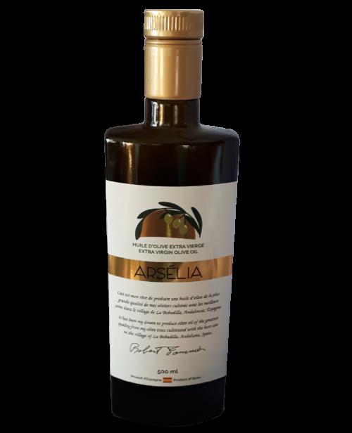 Qualité-Huile d'olive extra vierge-Huiles d'olive Arsélia-Importé d'Espagne-Produit Québécois