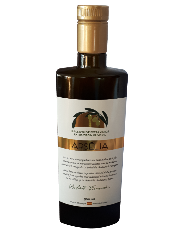 Huiles_d'Olive_Arsélia-Extra_vierge-Picual-Huile-Olives-500mL