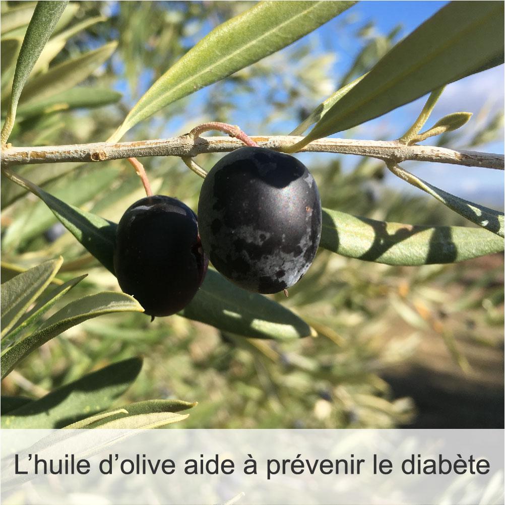 Diabète-Bienfaits-Huiles d'Olive Arsélia